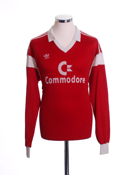 1986-87 Bayern Munich Home Shirt L/S L