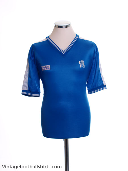 1986-87 Chelsea Home Shirt XL