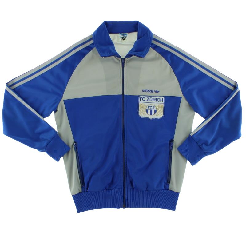 1986-87 FC Zurich adidas Track Jacket M