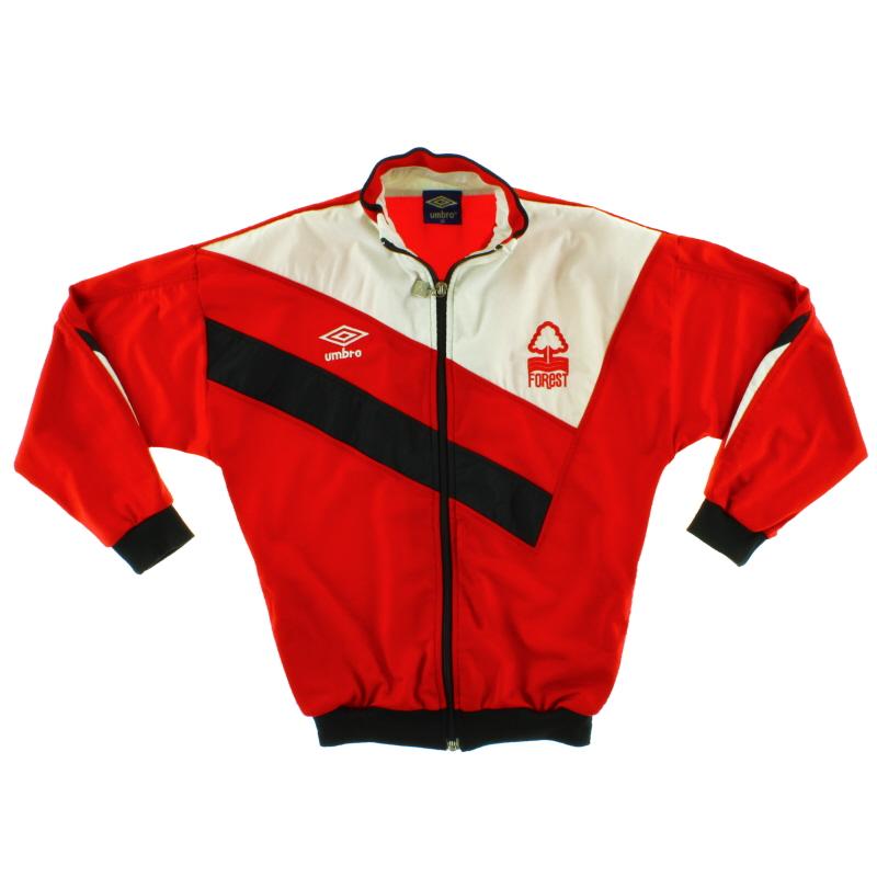 1986-87 Nottingham Forest Umbro Track Jacket XL.Boys