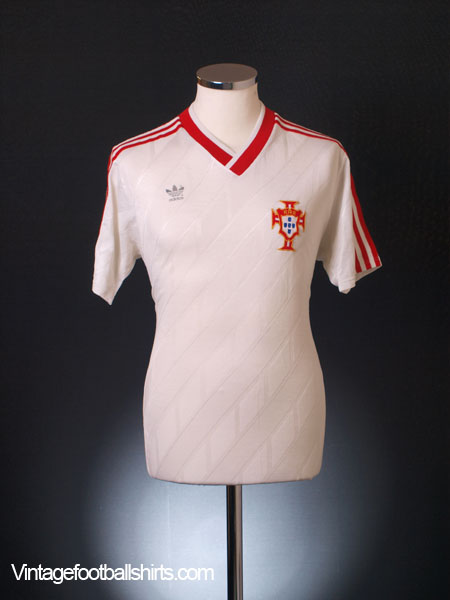 1986-87 Portugal Away Shirt L