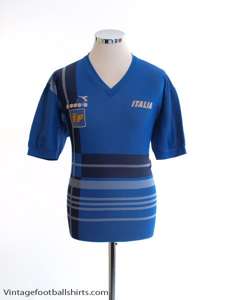 1986-88 Italy Player Issue Training Shirt L