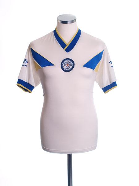 1986-88 Leeds Home Shirt M