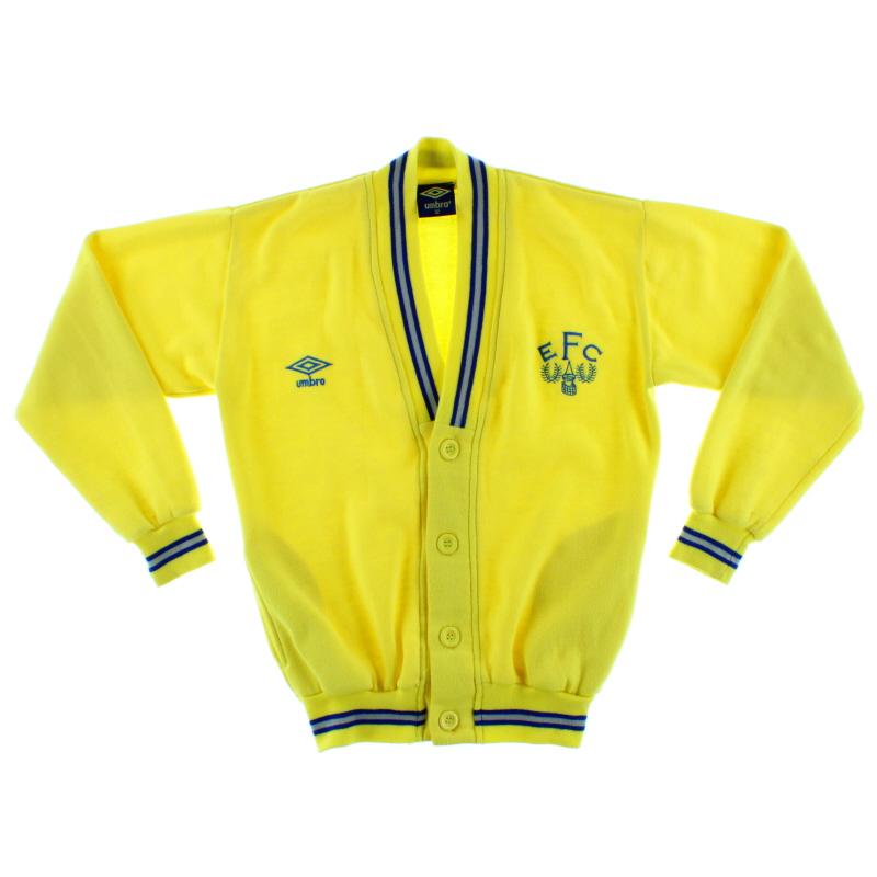 1986-89 Everton Umbro Cardigan XL.Boys