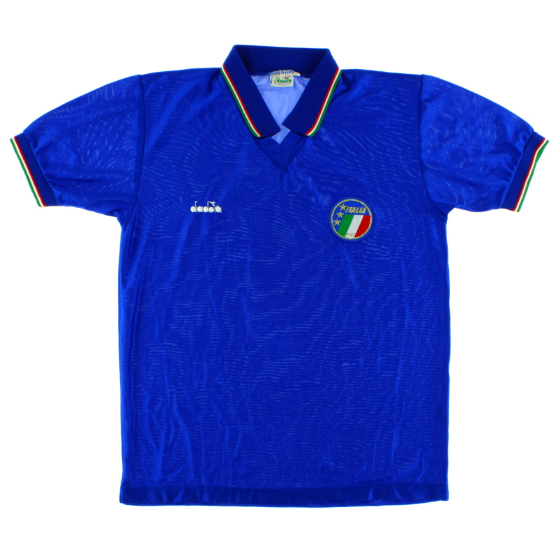 1986-90 Italy Home Shirt *Mint* L
