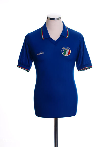1986-90 Italy Home Shirt S