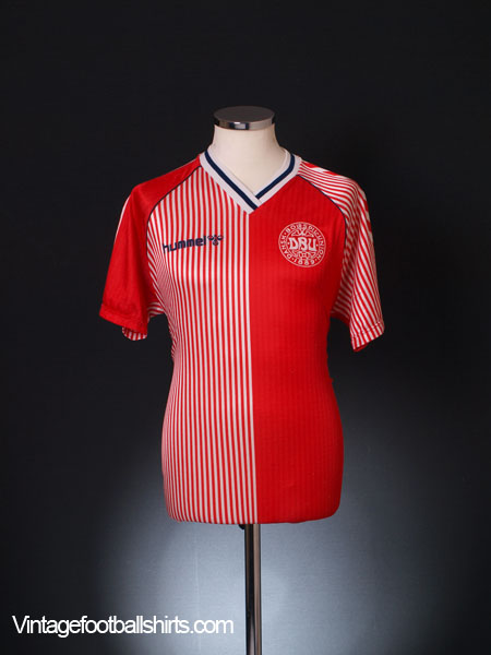 1986 Denmark Home Shirt L