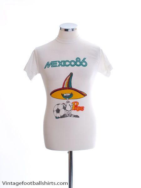 1986 Mexico 86 T-Shirt M