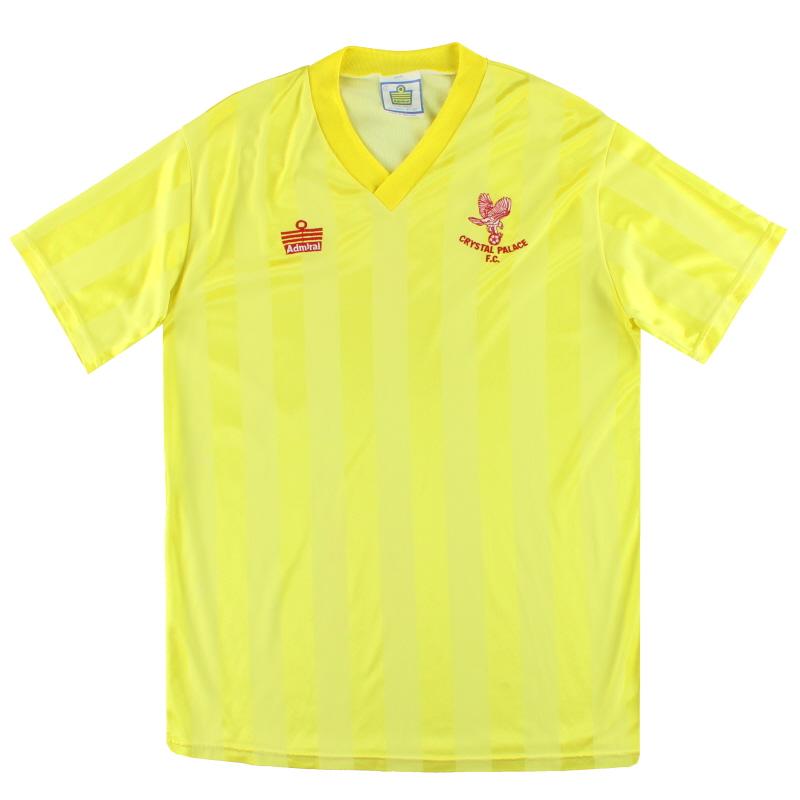 1987-88 Crystal Palace Admiral Away Shirt L