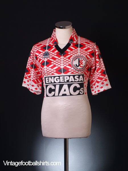 1987-88 Joinville Home Shirt #10 XL