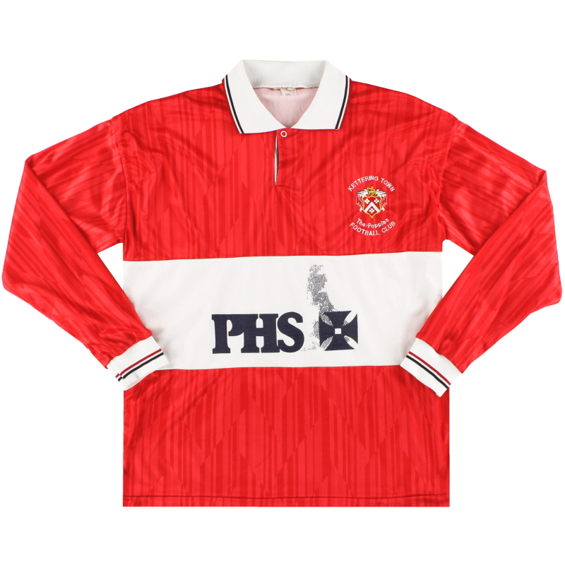 1987-88 Kettering Home Shirt L/S M