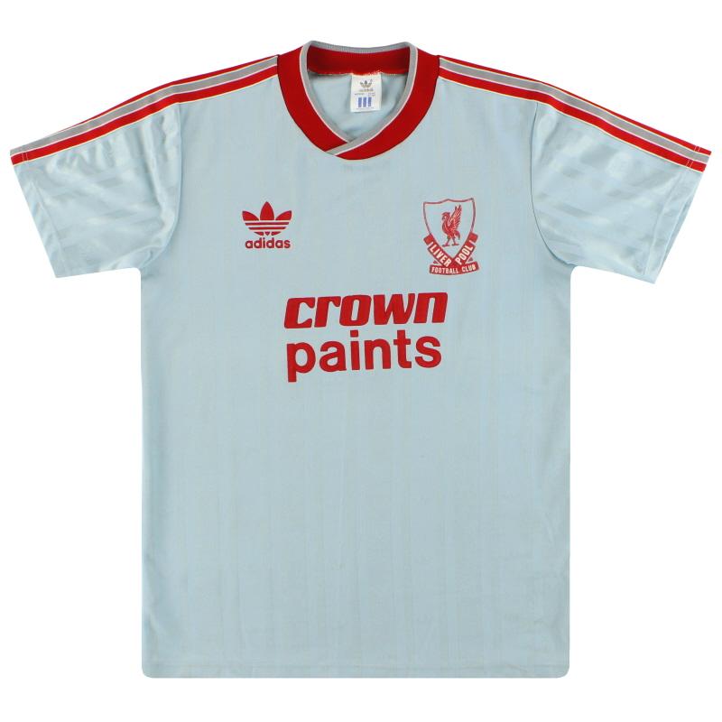 1987-88 Liverpool adidas Away Shirt L