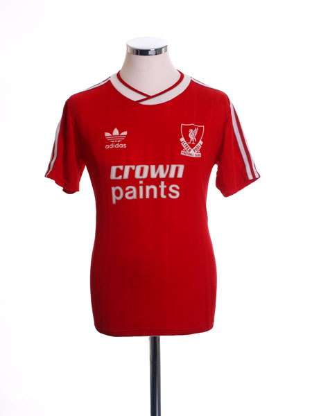 1987-88 Liverpool Home Shirt M