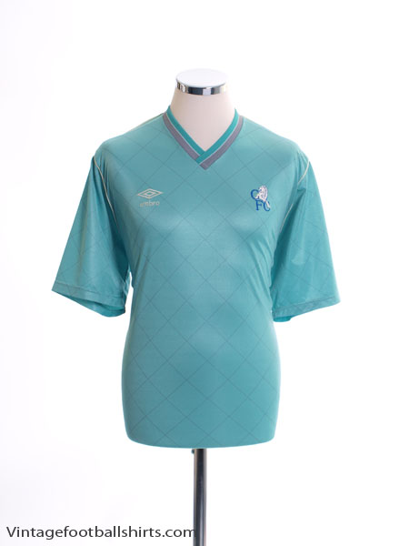 1987-89 Chelsea Away Shirt L