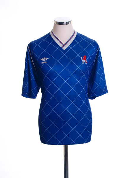 1987-89 Chelsea Home Shirt *Mint* S