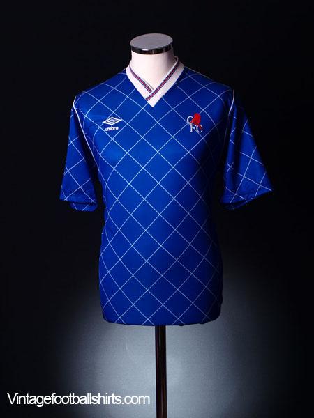 1987-89 Chelsea Home Shirt M
