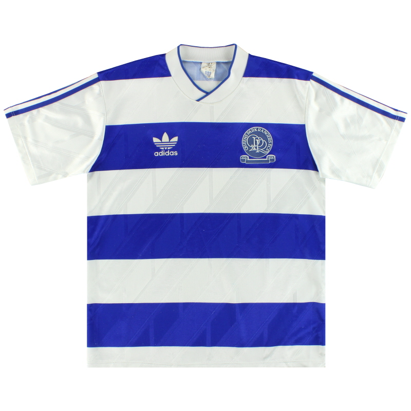 1987-89 QPR adidas Home Shirt XL