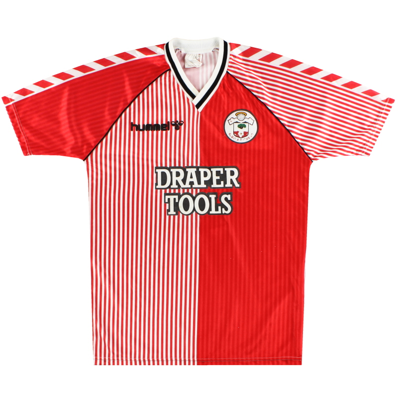 1987-89 Southampton Hummel Home Shirt Y