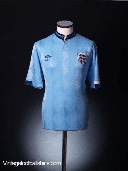 1987-90 England Third Shirt *BNIB* L