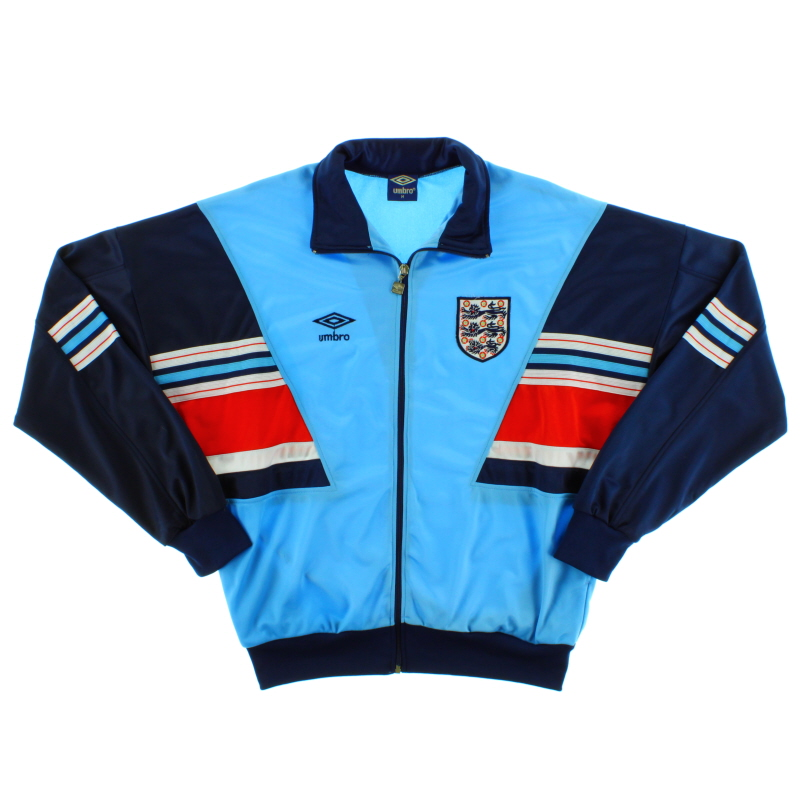 1987-90 England Umbro Track Top *Mint* M