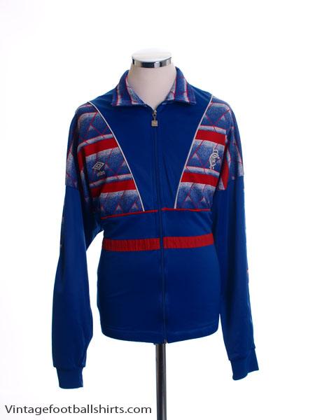 1987-90 Rangers Umbro Track Top L