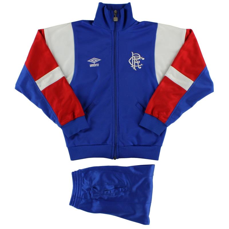 1987-90 Rangers Umbro Tracksuit Y