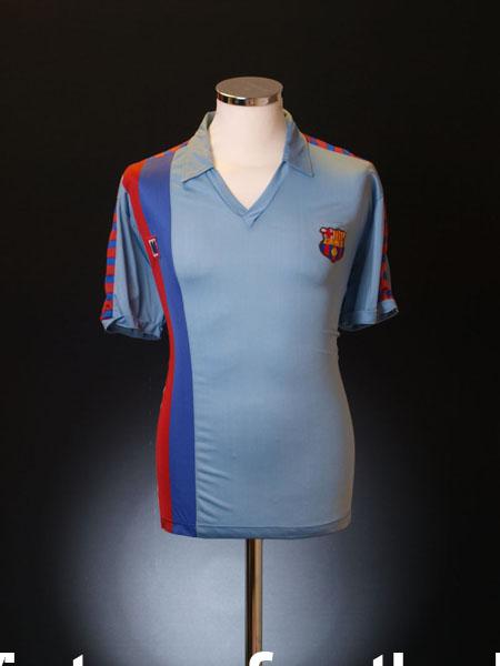 1987-91 Barcelona Third Shirt L