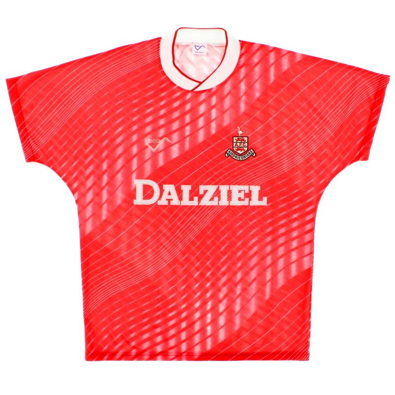 1988-89 Airdrieonians Away Shirt M