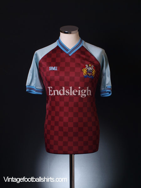 1988-89 Burnley Home Shirt L