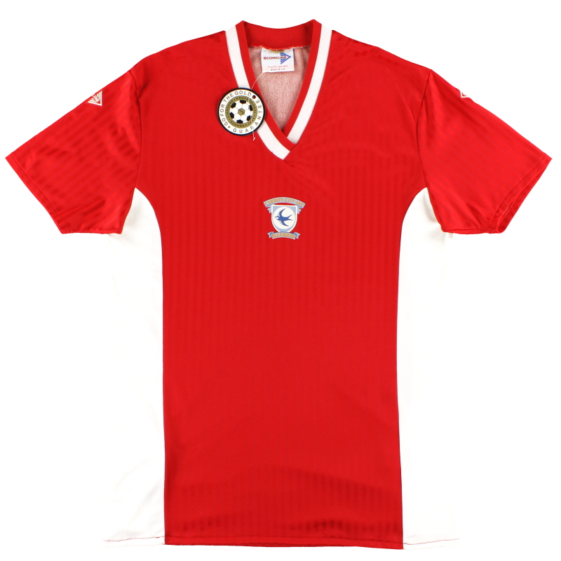 1988-89 Cardiff City Away Shirt *BNWT* XL