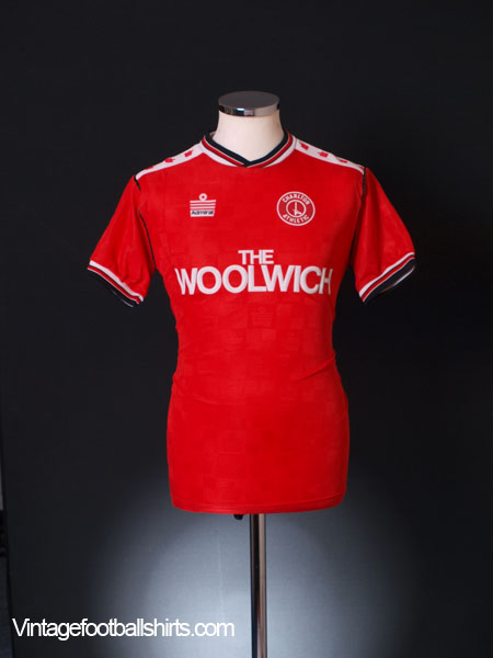 1988-89 Charlton Home Shirt M