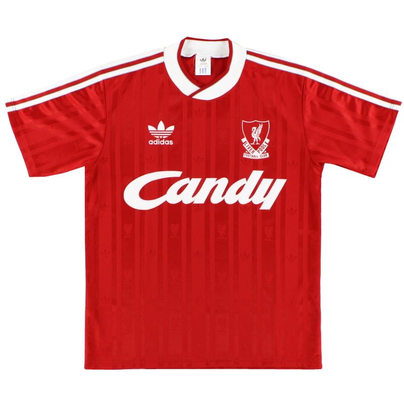 1988-89 Liverpool adidas Home Shirt *Mint* XL - LH.1019