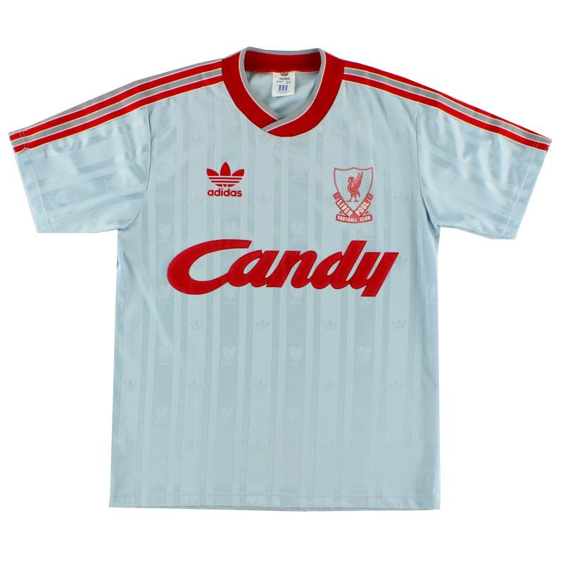 1988-89 Liverpool Away Shirt *Mint* M