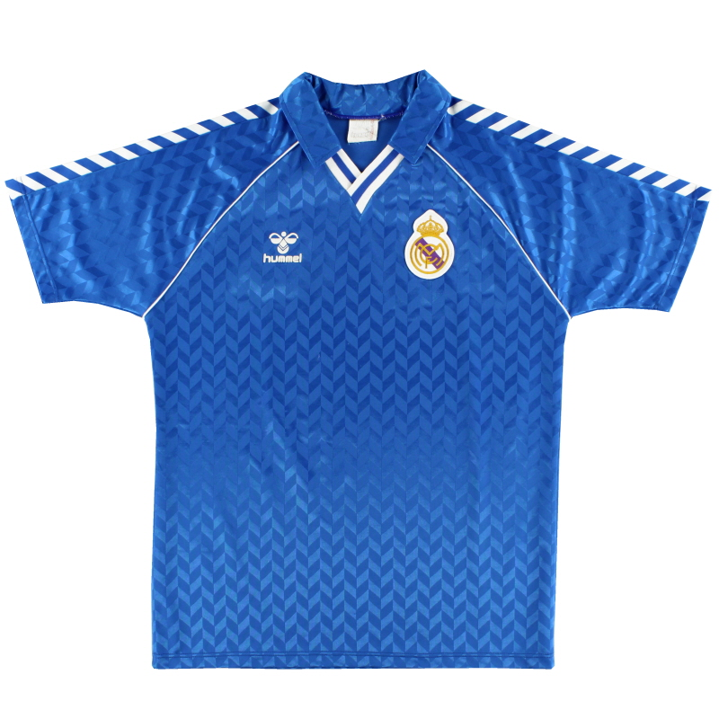 1988-89 Real Madrid Away Shirt L