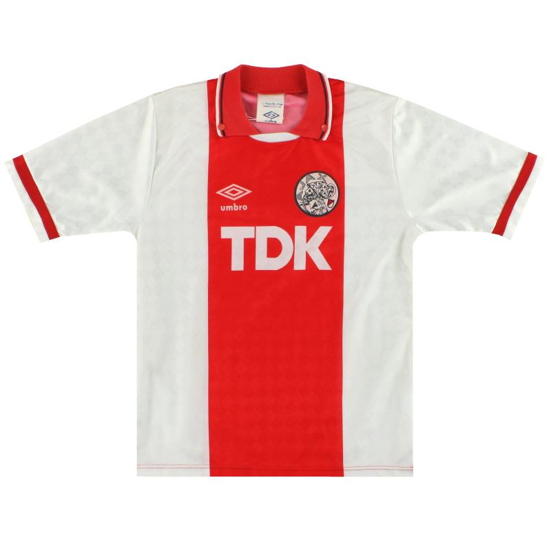 1988-90 Ajax Umbro Away Shirt  Y