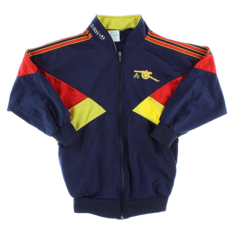 1988-90 Arsenal adidas Track Jacket Y