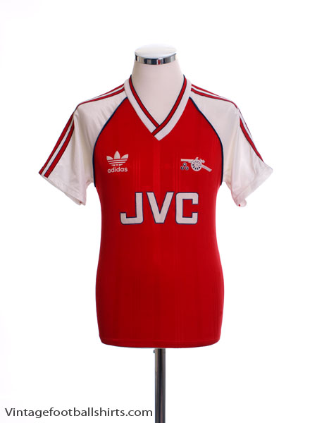 1988-90 Arsenal Home Shirt M