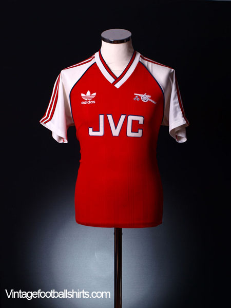 1988-90 Arsenal Home Shirt L