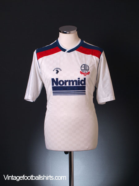 1988-90 Bolton Home Shirt L