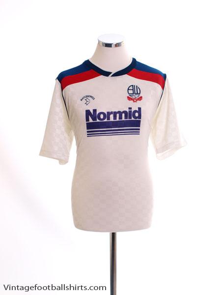 1988-90 Bolton Home Shirt L
