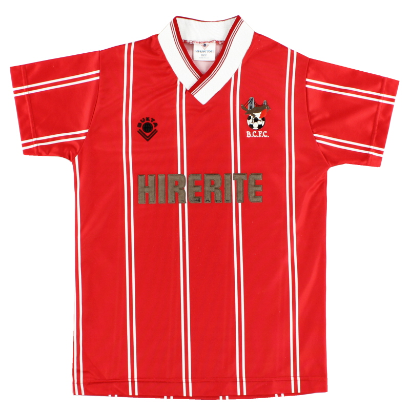 1988-90 Bristol City Home Shirt L.Boys