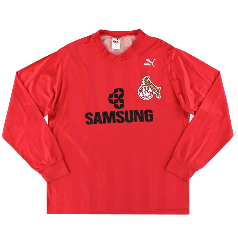 1988-90 FC Koln Puma Away Shirt L/S *Mint* XL