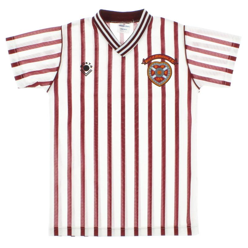 1988-90 Hearts Away Shirt L.Boys