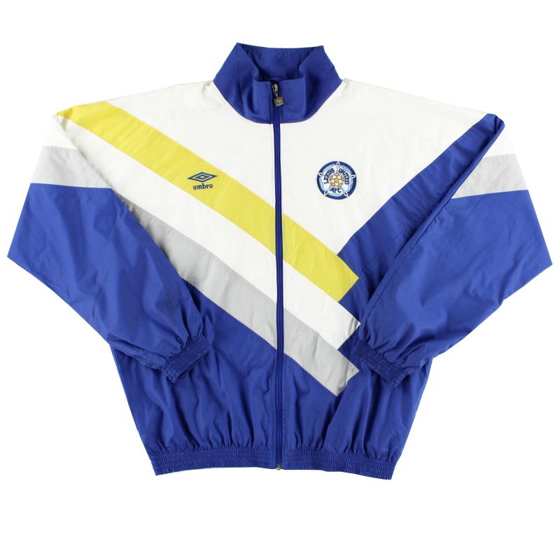 1988-90 Leeds Umbro Track Jacket L
