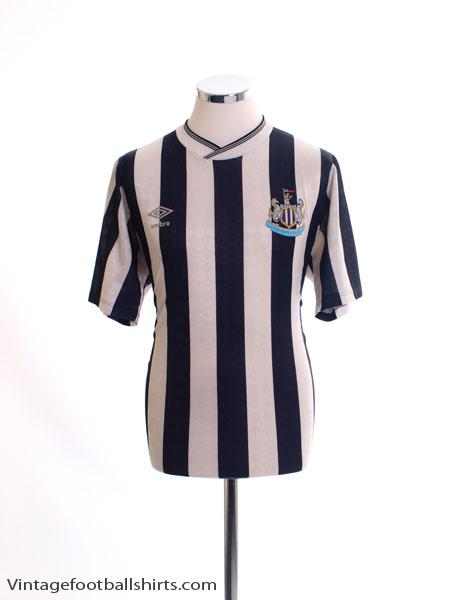 1988-90 Newcastle Home Shirt L
