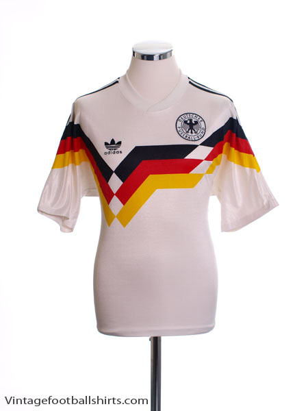 1988-90 West Germany Home Shirt M