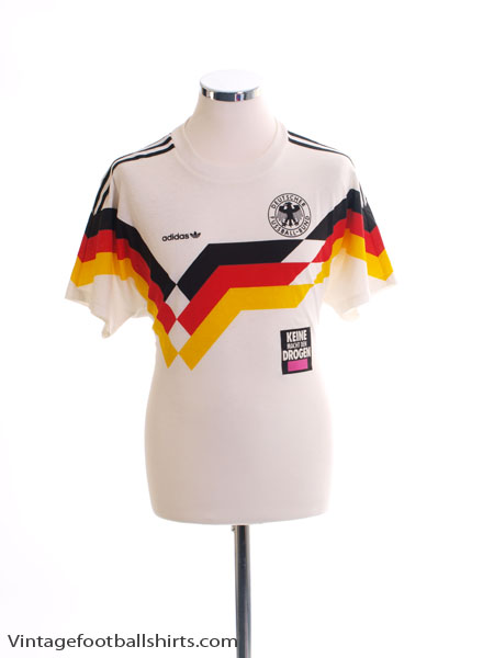 1988-90 West Germany Home T-Shirt M