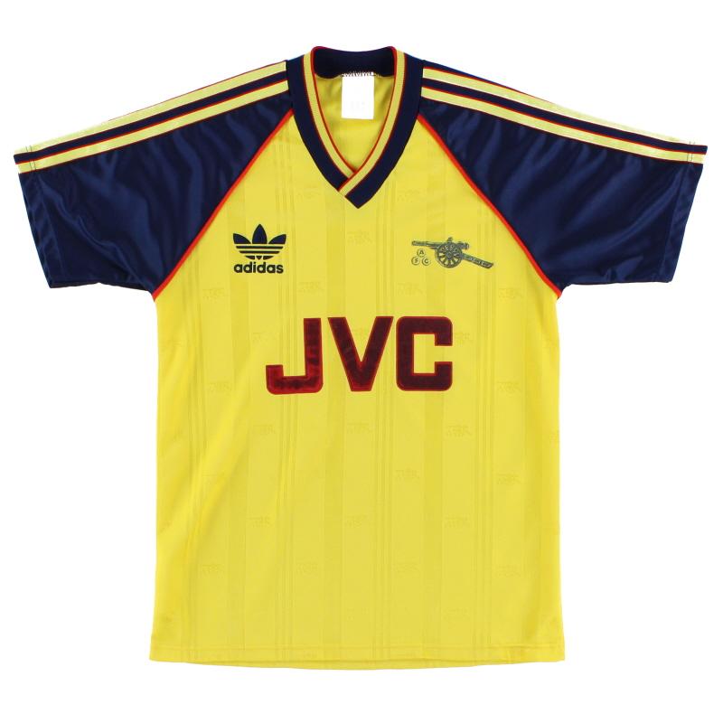 1988-91 Arsenal Away Shirt Y