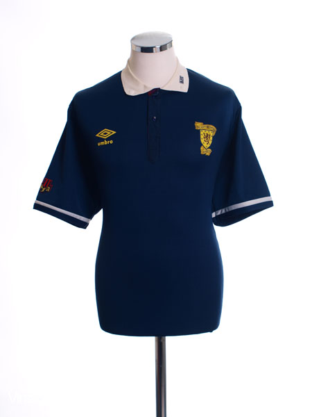 1988-91 Scotland Home Shirt XL