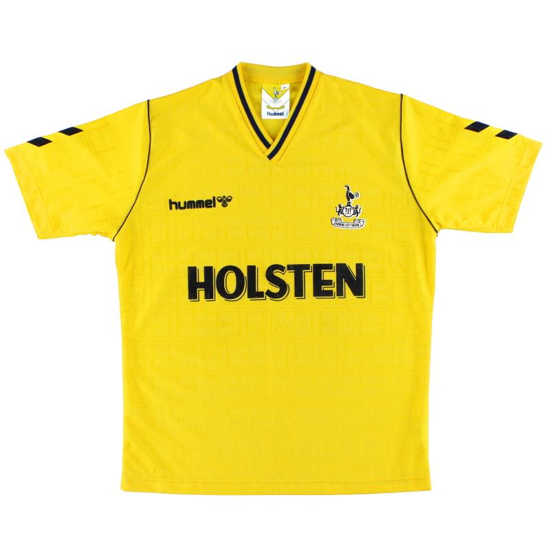 1988-91 Tottenham Hummel Away Shirt *Mint* XL